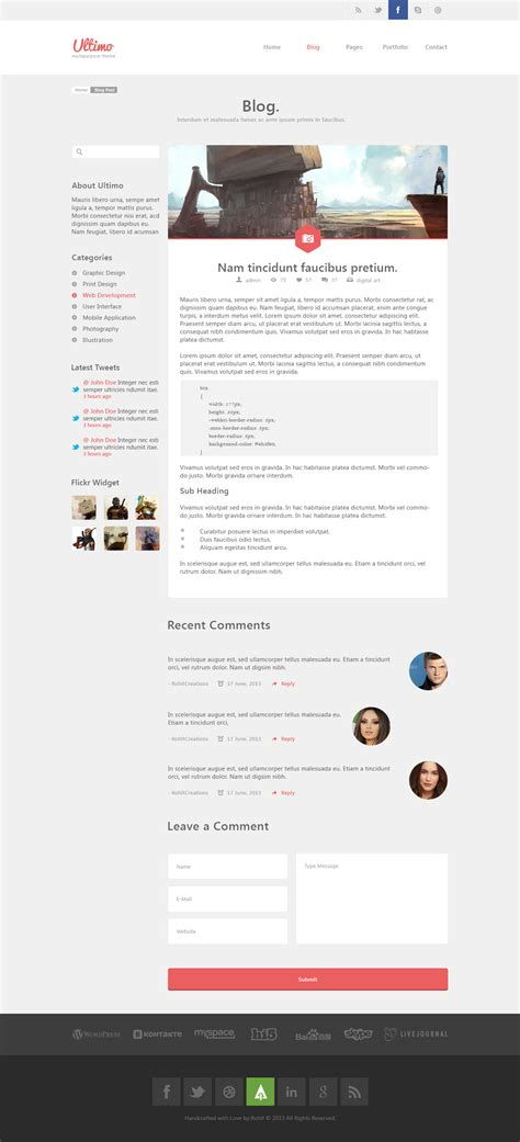 ultimo template ultimo multipurpose psd template by wellmadepixel