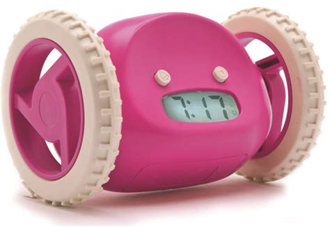 Clocky Alarm Clock Runs And Hides When You Dont Up by Clocky Runaway Alarm Clock