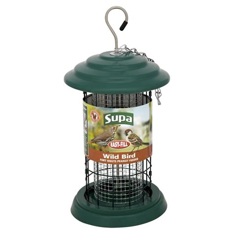 supa wild bird fort knuts peanut feeder at wilko com