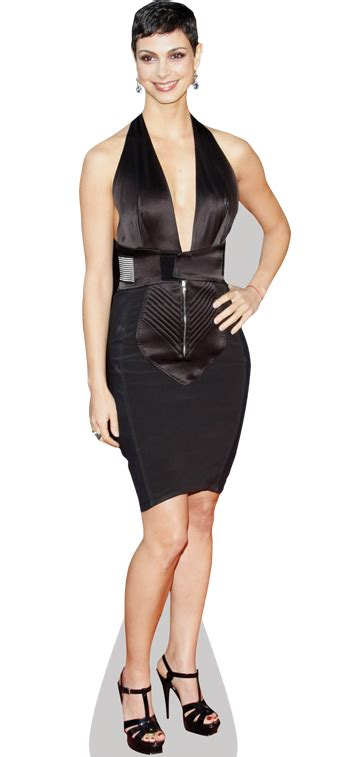 Morena Dress morena baccarin black dress cardboard cutout standee