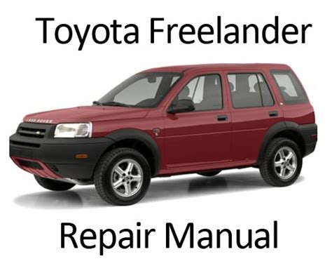 auto repair manual free download 2004 land rover freelander transmission control service manual 2004 land rover freelander manual download 2001 2004 land rover freelander