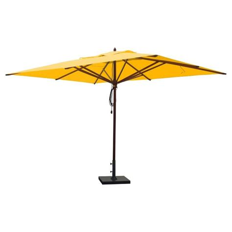Patio Umbrellas Rectangular by 25 Best Ideas About Rectangular Patio Umbrella On
