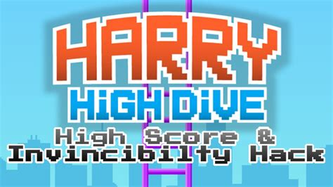 how to mod game center scores harry high dive high score and invincibility hack