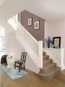 hall and stairs neutral paint colours new house