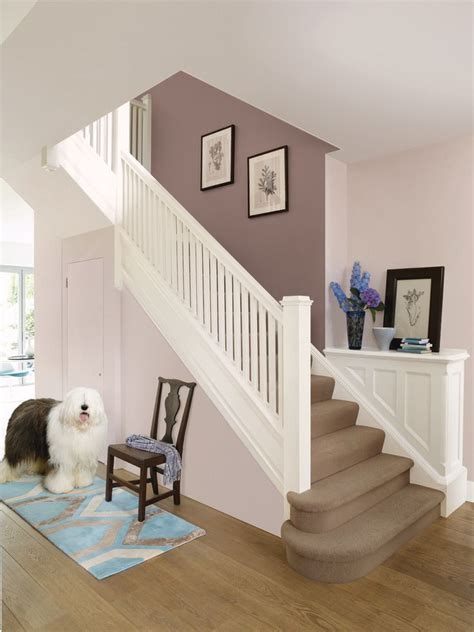 paint colors for hallways and stairs dulux potters wheel paint with jasmine white house