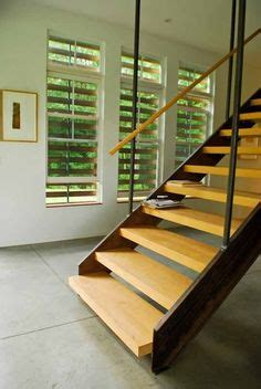 keith sara s outside in inside out modern farmhouse modern interior stair railing modern stainless steel