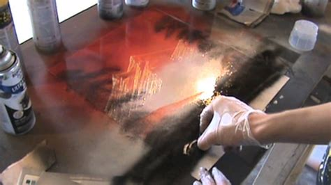 spray paint how to make mountains spray paint tutorial mountains and nature