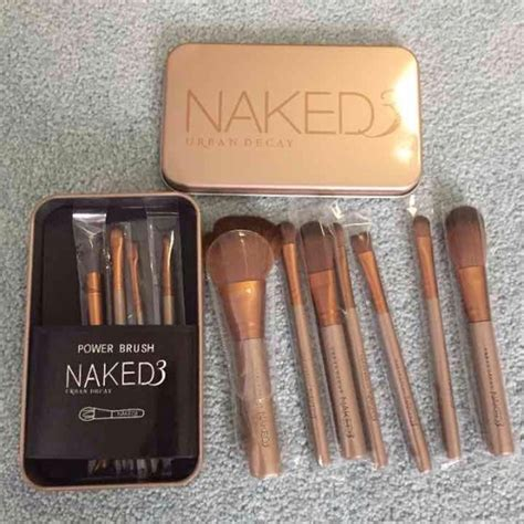 Brush Set Decay 72 decay accessories makeup brush set from