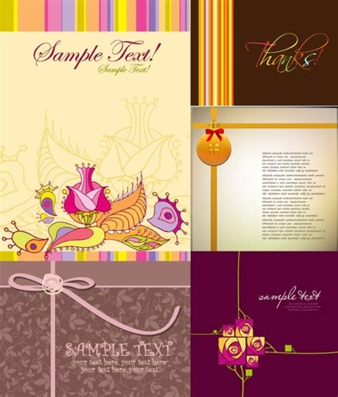 greeting cards templates free downloads greeting card template vector free vector in encapsulated