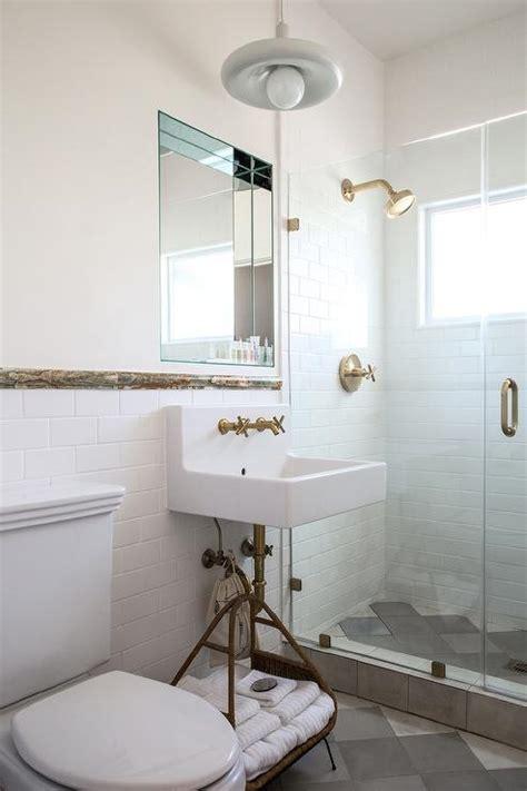 mirrored bathroom diamond pattern mirrored backsplash contemporary bathroom