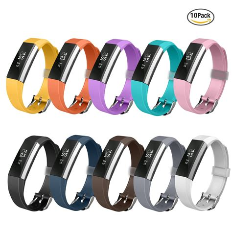 GreenInsync Watch Buckle Design Fitbit Alta Accessory Replacement Bands 10 set buckle   High