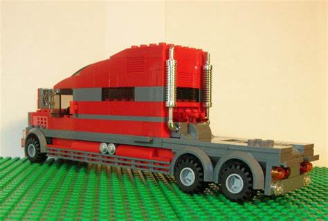 Extended Sleeper Cab by Lego Ideas Extended Sleeper Cab Semi Truck