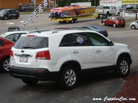 kia 4 cylinder cars 2011 kia sorento lx awd 4 cylinder 7 passenger for sale in