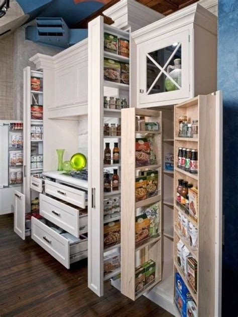 56 Useful Kitchen Storage Ideas Digsdigs Kitchen Storage Furniture Ideas