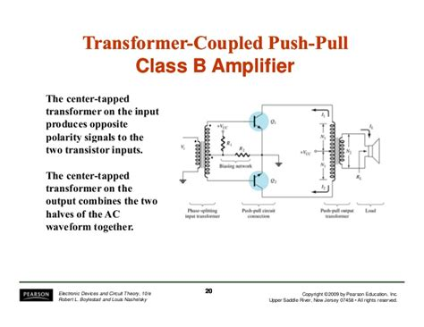 transformer coupling theory electronic devices and circuit theory 10th ed boylestad chapter 12
