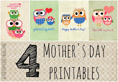 what can you get a for s day free owl themed s day printables glued to my crafts