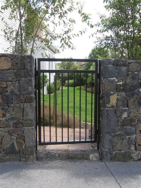 pedestrian swing gate gateworx automatic gates and fences gallery auckland