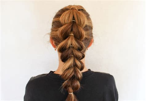 how to create a french pull through braid