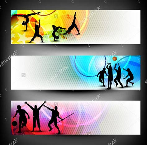 templates for sports banners 17 sports banner designs design trends premium psd
