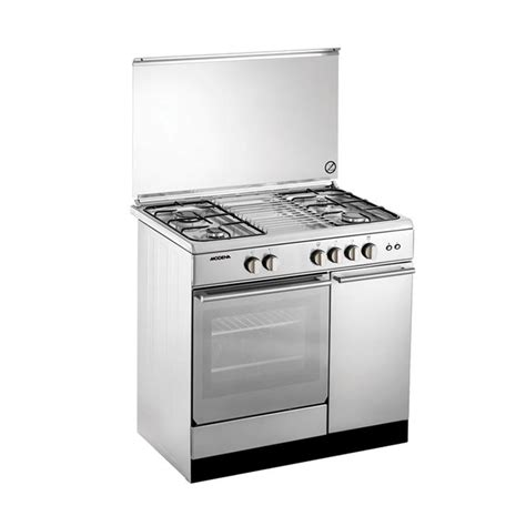Kompor Gas Ariston 4 Tungku jual modena fc7943s kompor gas with oven freestanding 4