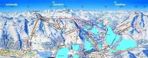 Davos Ski Resort Map Parsenn