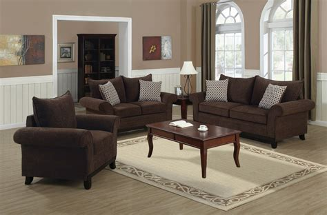 chocolate living room set chocolate chenille fabric living room set 8733ch monarch