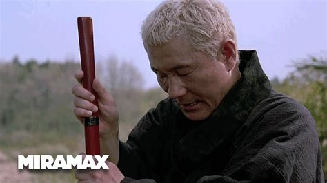 zatoichi  blind swordsman  moments peace hd takeshi kitano miramax youtube