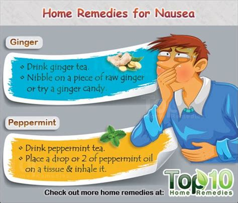 home remedies for nausea top 10 home remedies