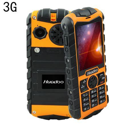 buy rugged phone aliexpress buy original huadoo h3 3g mobile tough phones waterproof phone senior