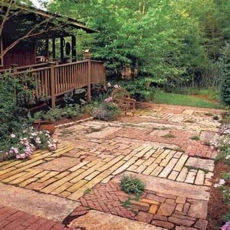Easy Patio Pavers Triyae And Easy Backyard Patio Ideas Various Design Inspiration For Backyard