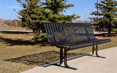 victor stanley park benches millennium park markham ontario canada victor stanley