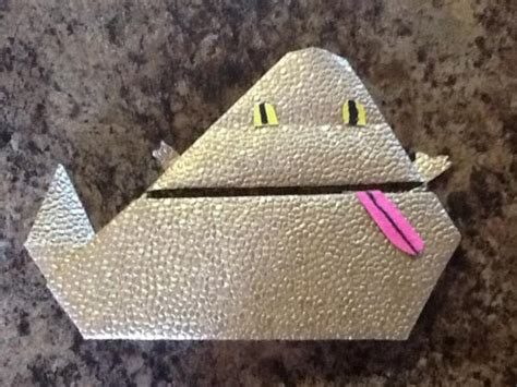 How To Make Origami Jabba - my jabba the hutt origami yoda