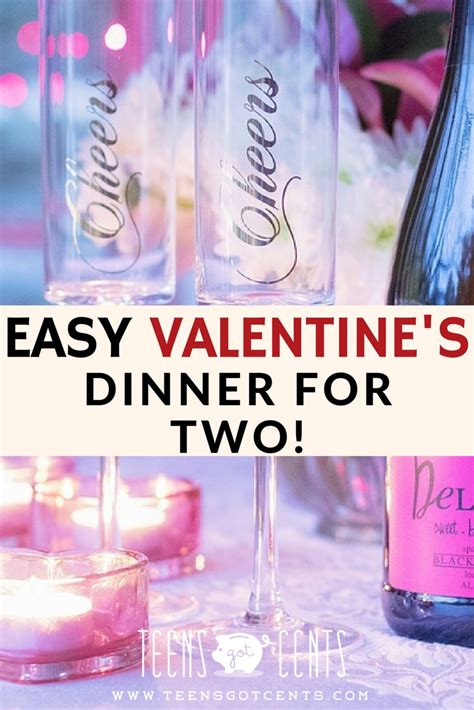 easy valentines day dinner easy s dinner for two teensgotcents