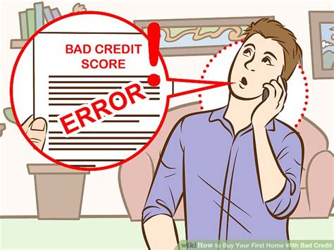 how to buy your home with bad credit 15 steps