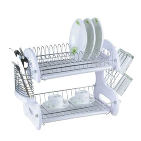 Two Tier Dish Rack by Dish Drainers 2 Tier Dish Drainer Dd1024 Hds8 Free