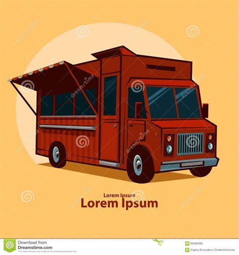 food truck design vector food truck stock vector image 66465583
