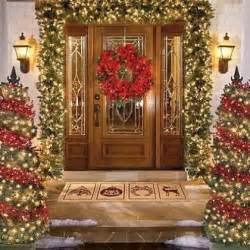 Outside Home Christmas Decorating Ideas Outdoor Christmas Decorating Ideas Home Interior Design