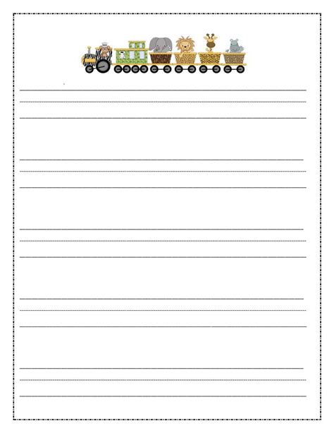 paper writing free coloring pages of primary lined paper