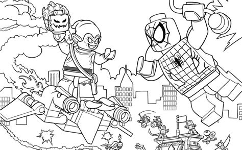 Lego Marvel Coloring Pages lego marvel heroes iron coloring pages coloring pages