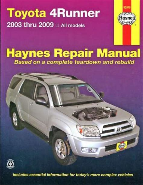 small engine service manuals 2003 toyota 4runner auto manual 2003 toyota 4runner engine workshop manual 2003 toyota 4runner v6 repair shop manual oem original