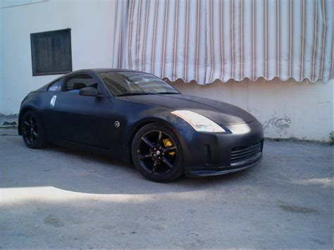 matte blue nissan 350z bone stock z in matte white or black my350z com