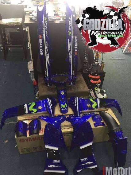 Behel Jok Yamaha Zr Original coverset yamaha 125zr movistar original fairings work motorcycles imotorbike malaysia