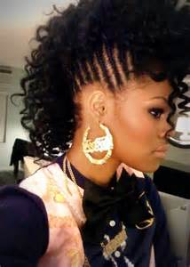 44 teyana taylor african american hairstyle cornrows and crazy curls