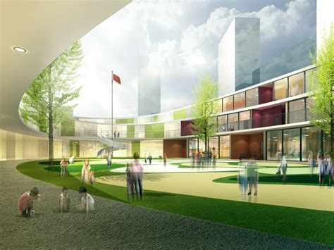 Interior Design Plan Gallery Of Udg China Breaks Ground On Wuxi Kindergarten 3