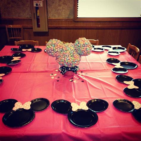 Minnie Mouse Table Decorations by Minnie Mouse Table Decorations Ideas