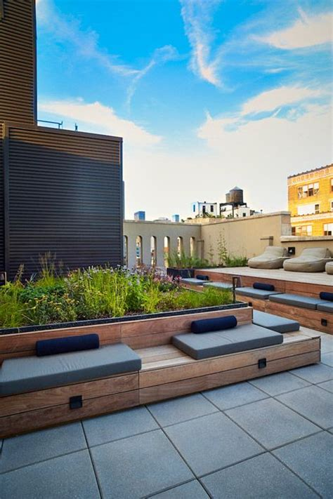 rooftop terrace nyc rooftop terrace designed by piet oudolf for the home