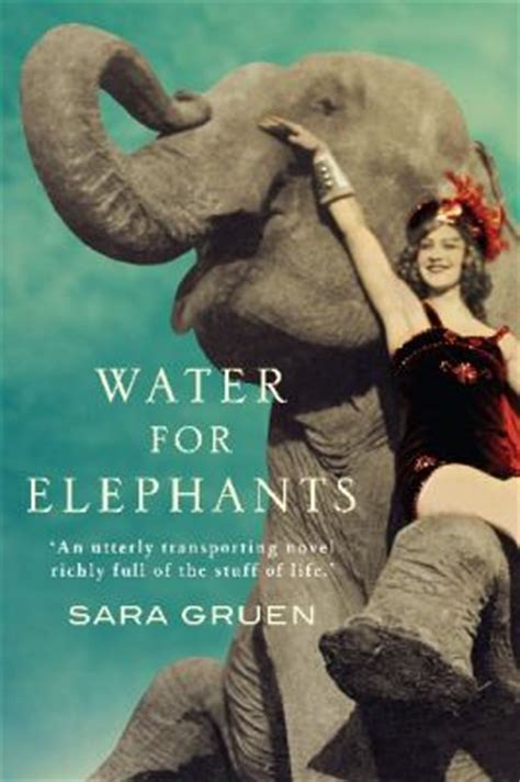 water for elephants a novel bookbath water for elephants gruen