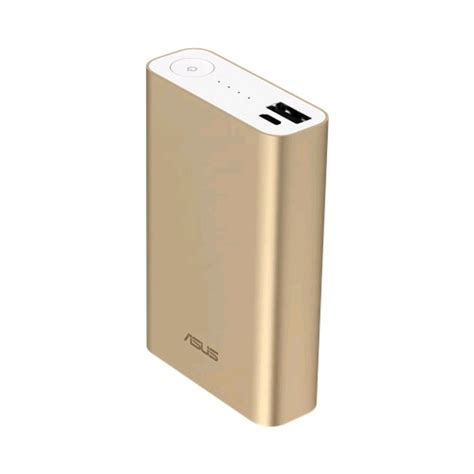 Powerbank Asus 10050mah asus zenpower power bank abtu005 10050mah gold prices features expansys new zealand