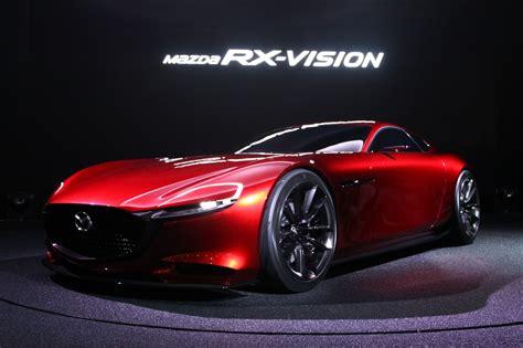 Mazda Rx Vision Concept Car by Mazda Rx Vision Concept Car คว ารางว ลรถยนต ออกแบบยอด