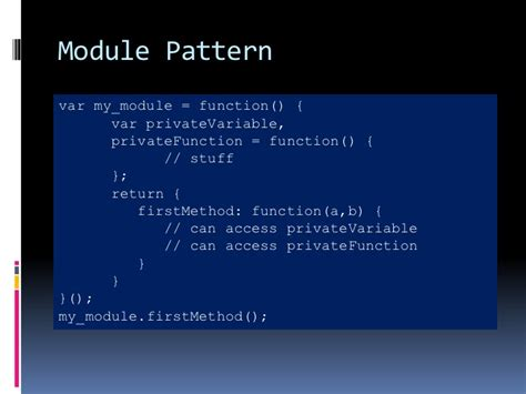 javascript module pattern public variables introduction to javascript and yoolkui